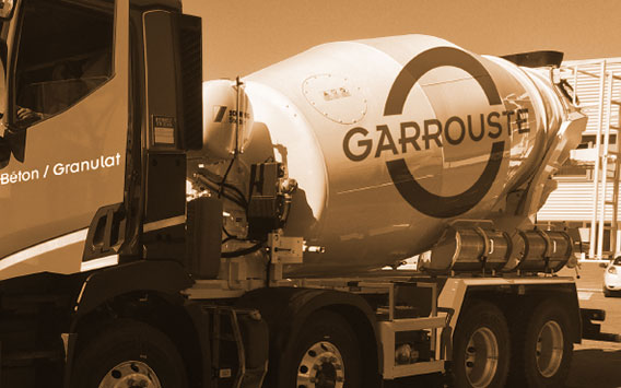 Garrouste - Camion toupie Garrouste