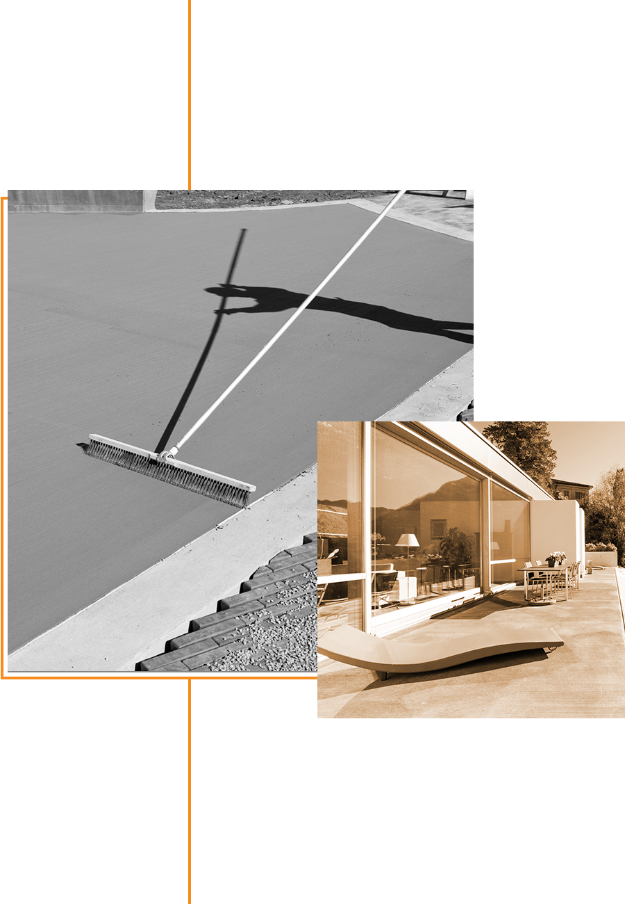 Garrouste - Terrasse - présentation et construction